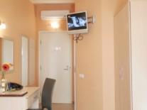 Sky hotel room