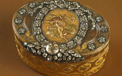 Эрмитаж. Бриллиантовая и золотая кладовая